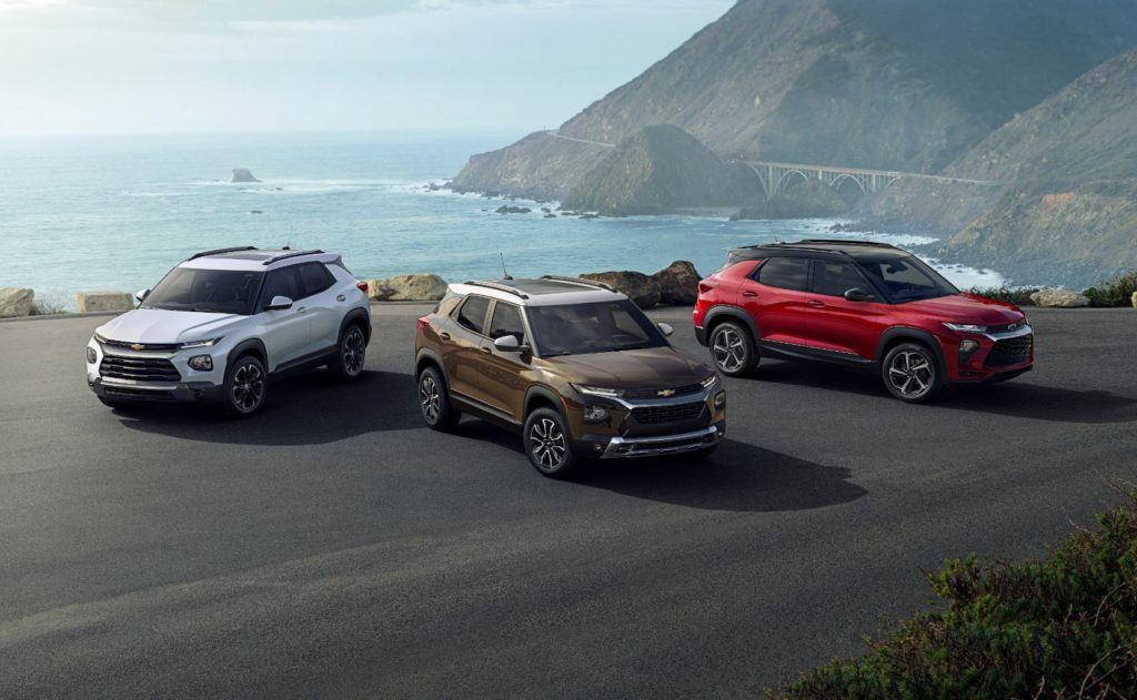 2021 Chevy Trailblazer family.