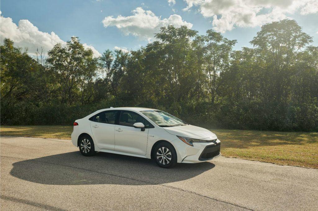2020 Toyota Corolla Hybrid.