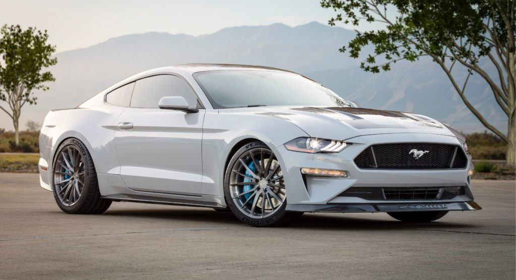 The Ford Mustang Lithium was a hit at SEMA 2019.