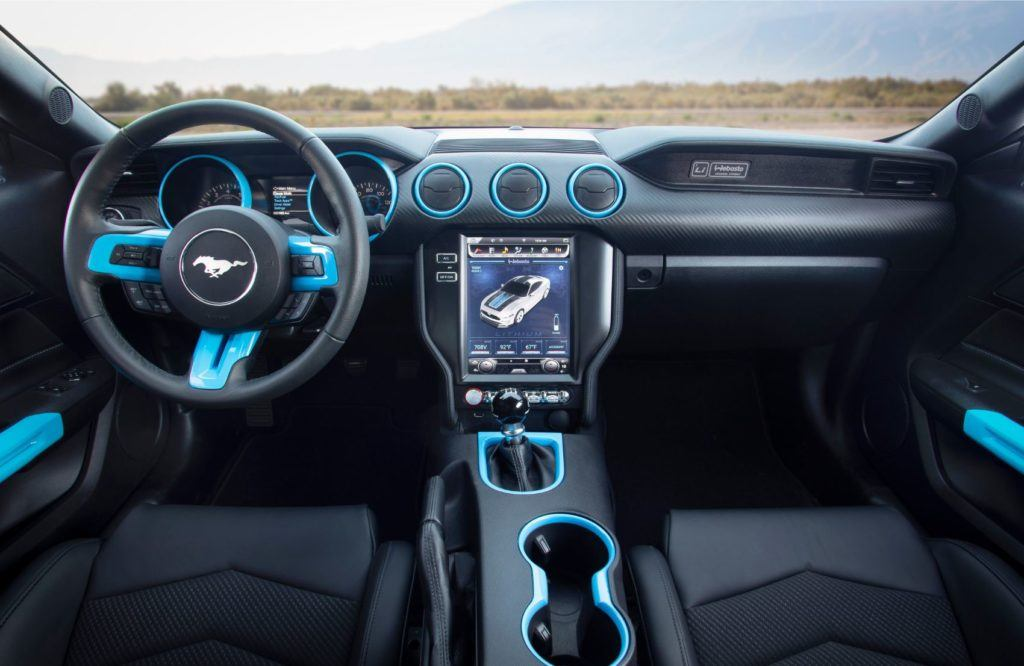 Mustang Lithium interior layout
