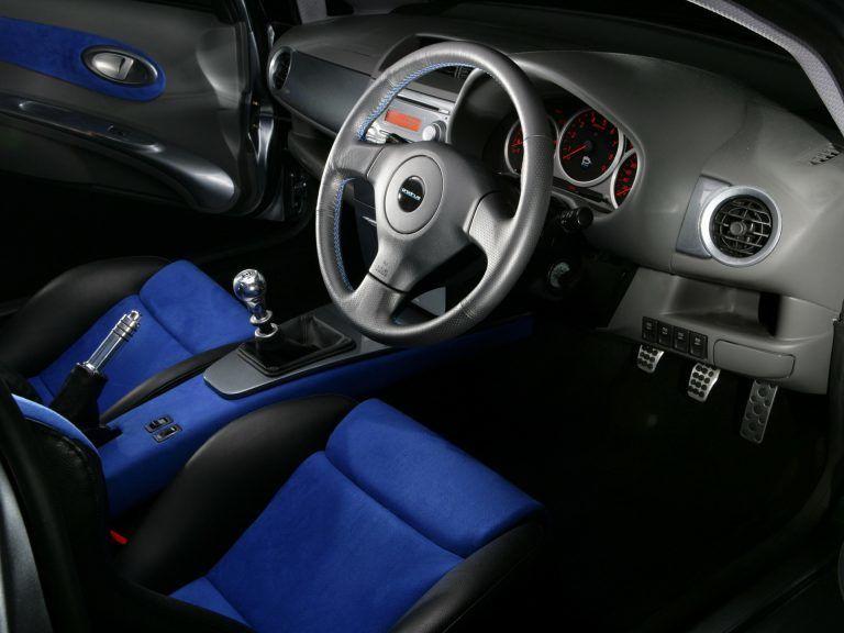 Prodrive P2 interior