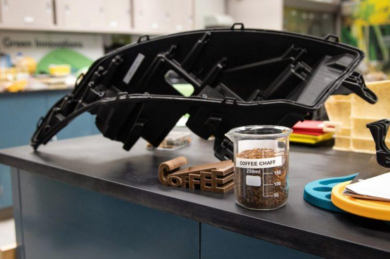 Ford Motor Company and McDonald's will soon be giving vehicles a caffeine boost by using coffee beans to make certain car parts and components.