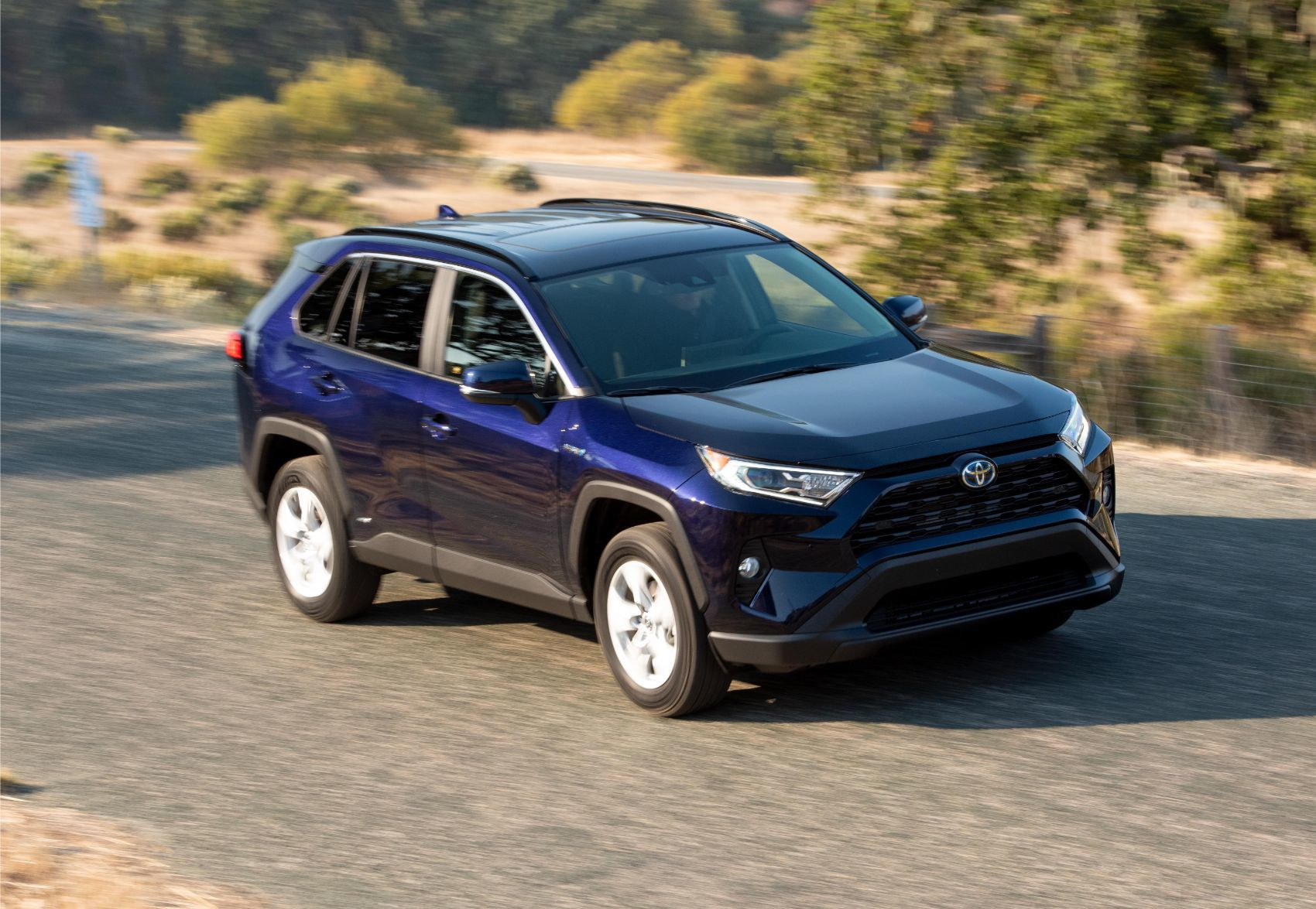 2020 Toyota Rav4 Hybrid Review Easy On The Gas Hard On The Eyes