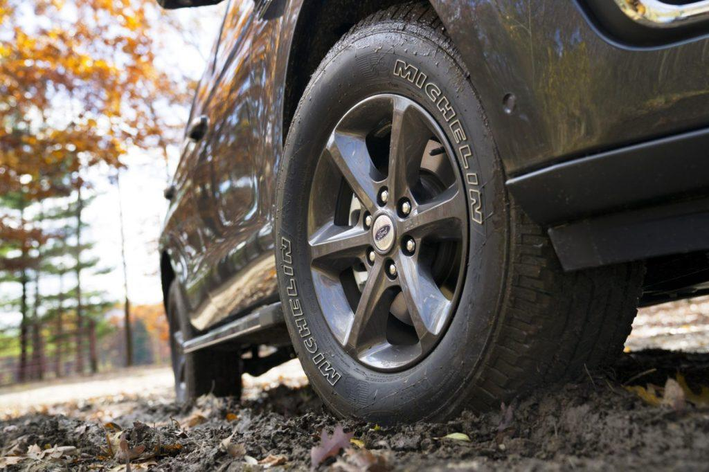 Michelin tires are standard of the 2020 Ford Expedition Limited FX4.