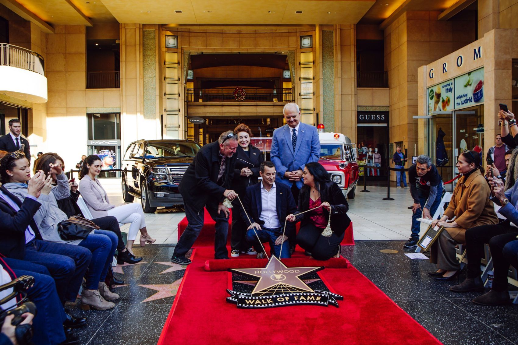 Chevy Suburban Honored On Hollywood Walk of Fame 15