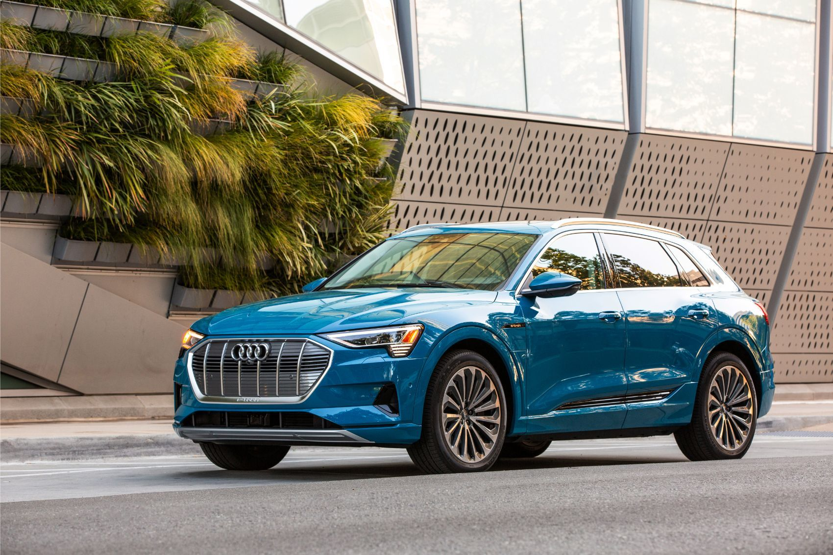 I Drove The Audi e-tron & Saw The Future. It's Weird.