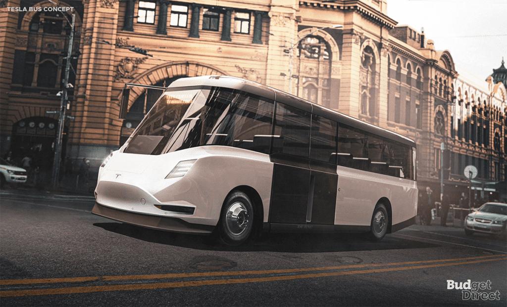 Tesla bus concept