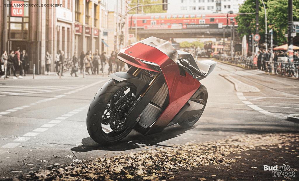 Tesla motorcycle concept