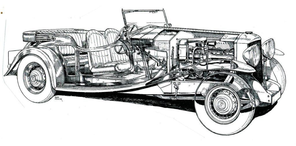 11 20 Railton tourer Millar 1933