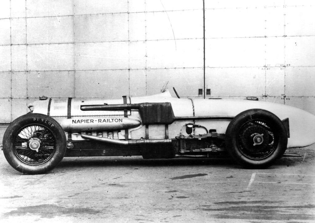 14 Napier Railton side