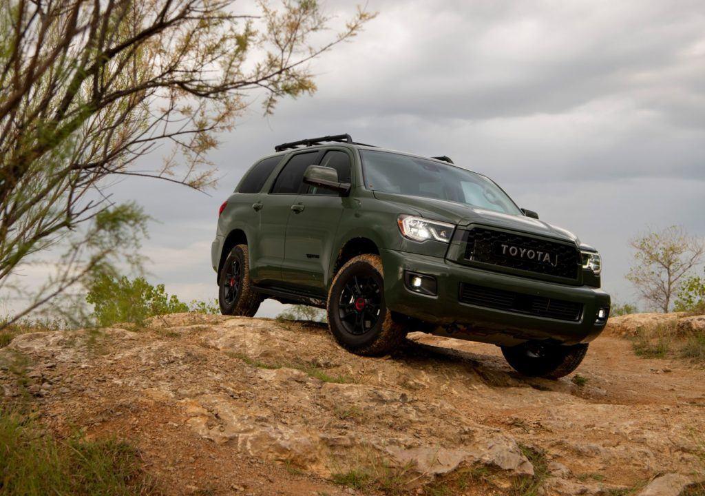 2020 Toyota Sequoia TRD Pro 19