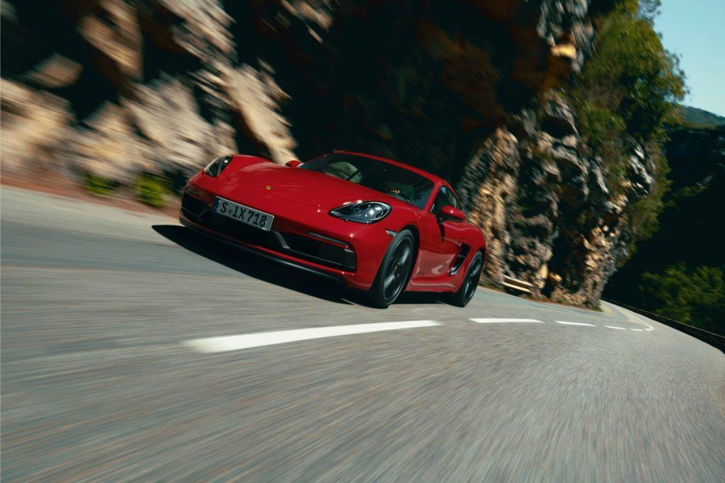 Porsche 718 Boxster & Cayman GTS Get Slick New 4.0-Liter Engine!