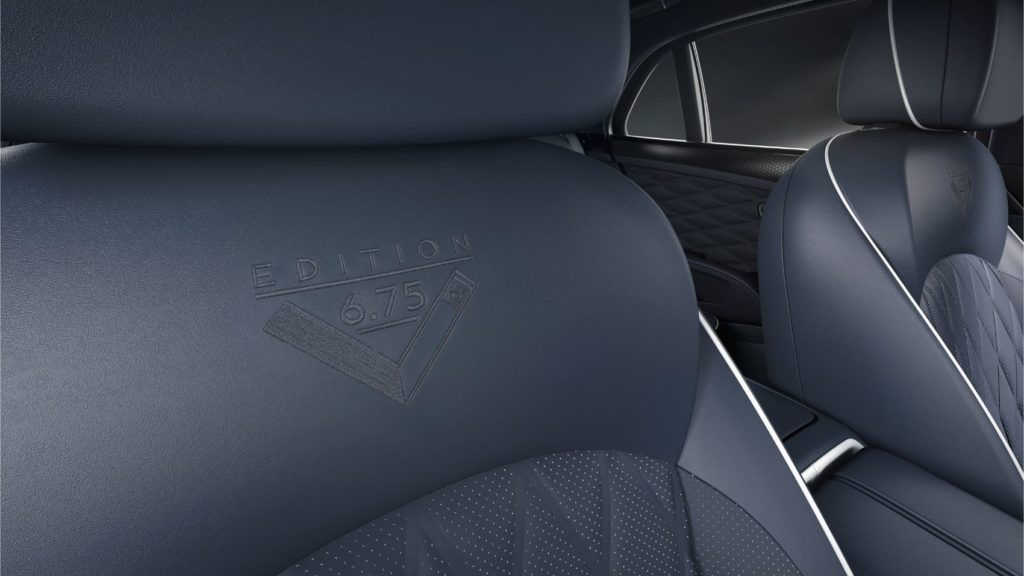 Mulsanne 675 Edition 13 Embroidery