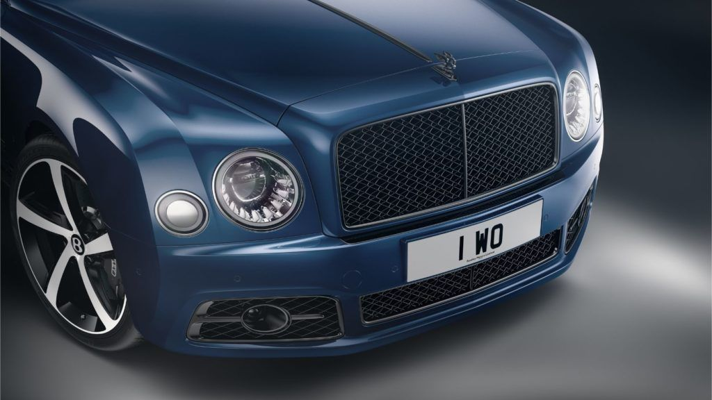 Mulsanne 675 Edition 4 Front Grille