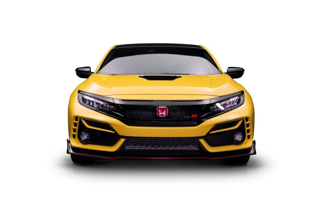 2021 Honda Civic Type R Limited Edition.