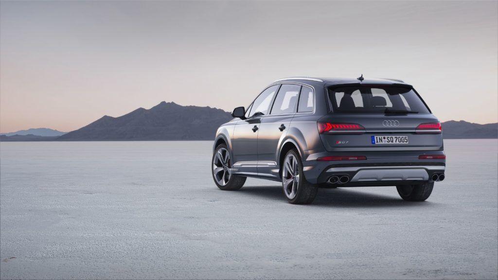 2020 Audi SQ7.