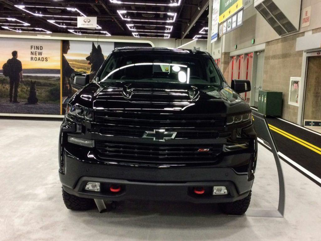 2020 Chevy Silverado Portland Auto Show 2
