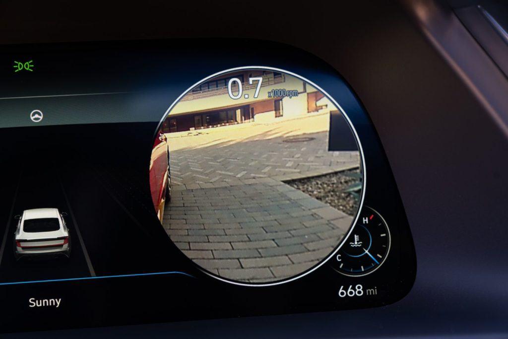 2020 Hyundai Sonata Limited in-vehicle camera system.