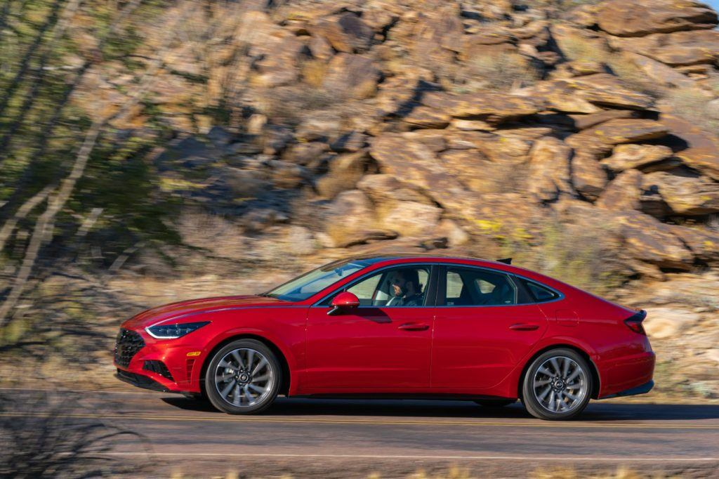 The 2020 Hyundai Sonata Limited will have enough power for most driving situations.