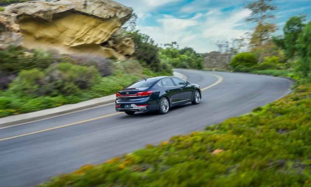 2020 Kia Cadenza on the open road.