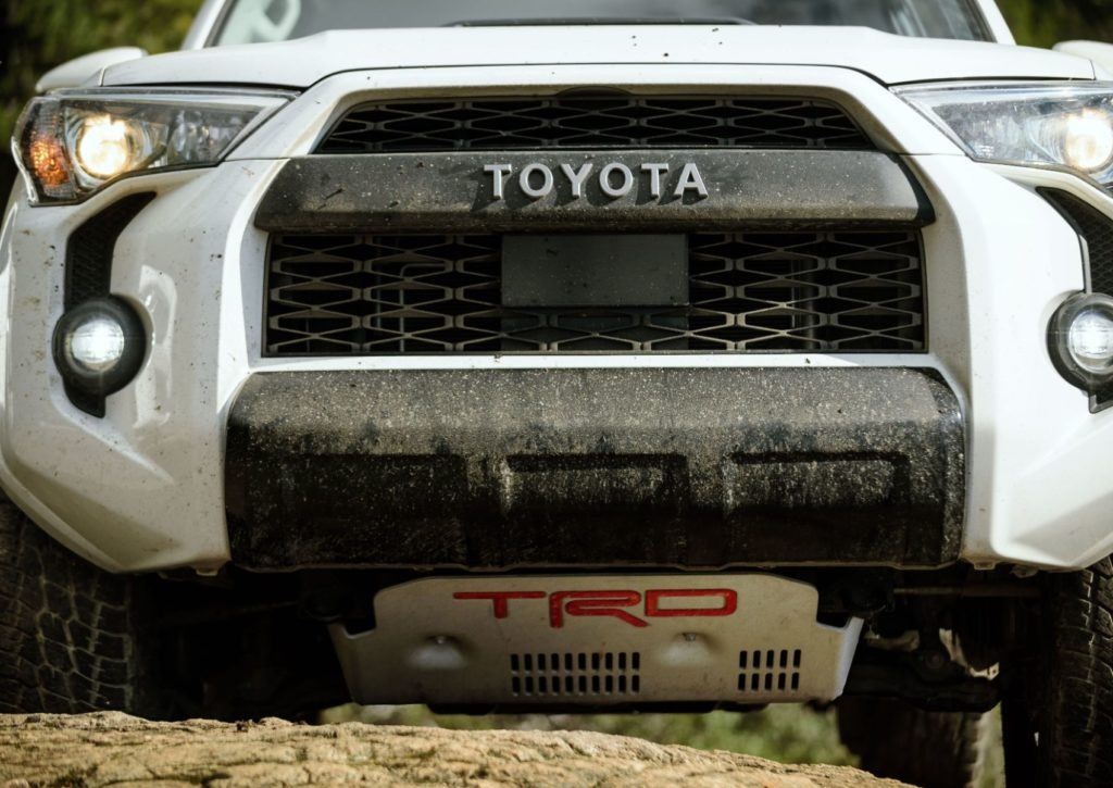 Despite being suited for off-road use, the 2020 Toyota 4Runner TRD Pro was fairly composed in the city.