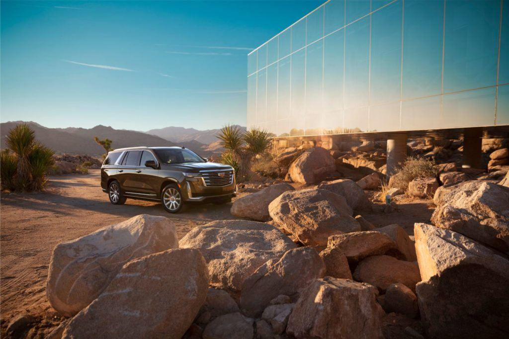 A 3.0-liter Duramax diesel with 460 lb-ft. of torque is optional for the 2021 Cadillac Escalade.