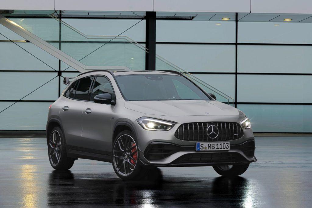 2021 Mercedes-AMG GLA 45.