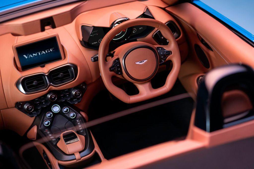 Aston Martin Vantage Roadster: This Drop Top Looks Really Fun! 22