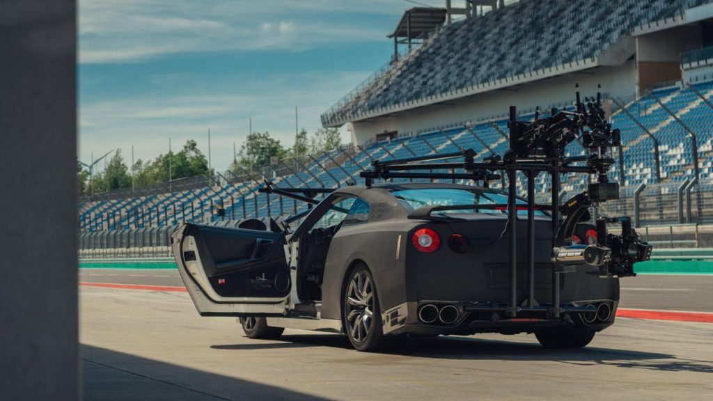 Nissan GT-R Camera Car - rear profile.