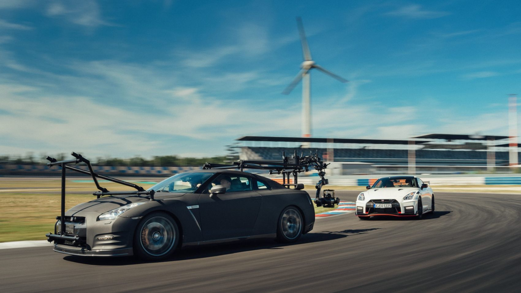 How To Film The Nissan GT-R NISMO? Easy. With Another GT-R! 15