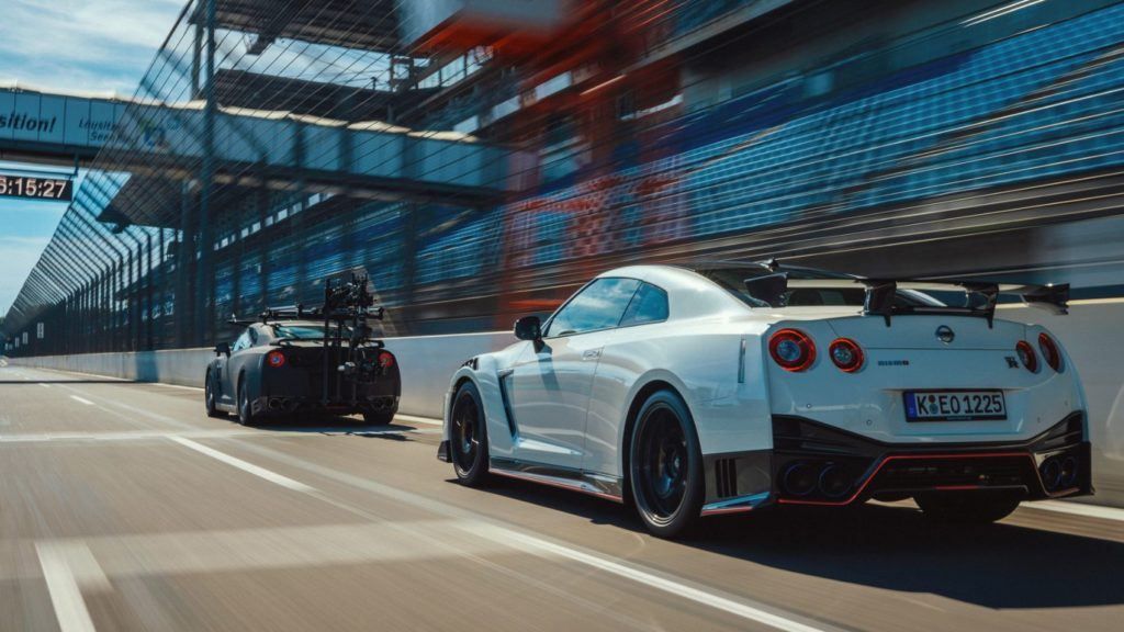 How To Film The Nissan GT-R NISMO? Easy. With Another GT-R! 20