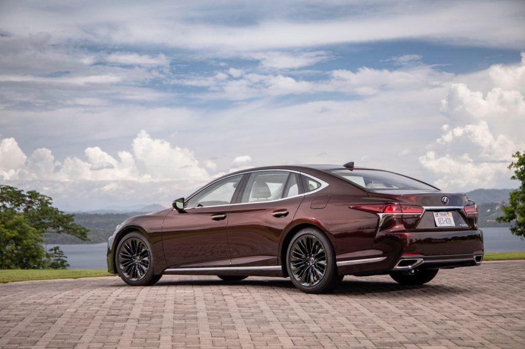 2020 Lexus LS 500 Inspiration Series.