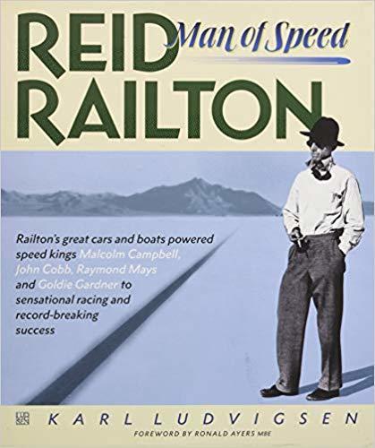 Reid Railton Man of Speed Cover