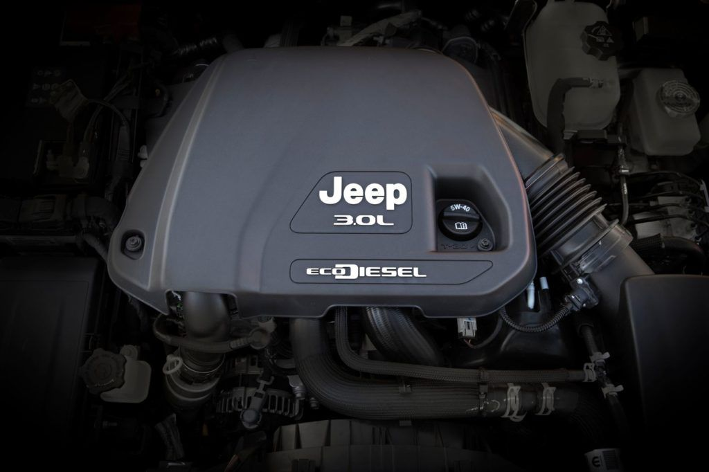 "The EcoDiesel was named one of ""Wards 10 Best Engines"" for three consecutive years (2014, 2015, 2016)."