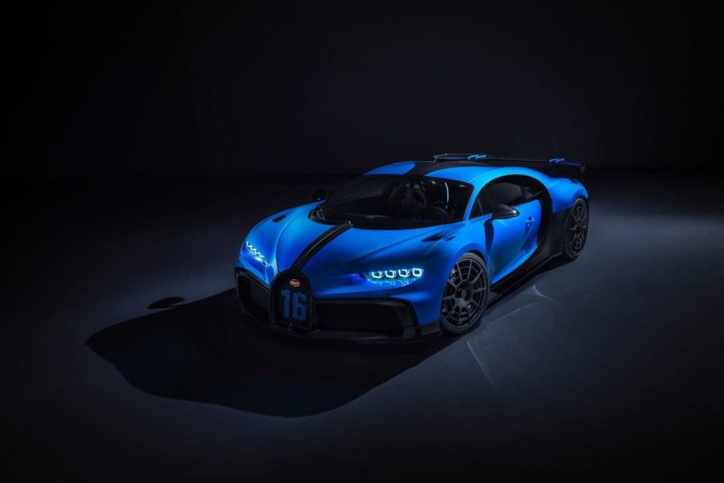 16 is a magic number for the Bugatti Chiron Pur Sport. The supercar features a W16 engine, while 16 kilograms of weight were cut from the wheels via new designs.