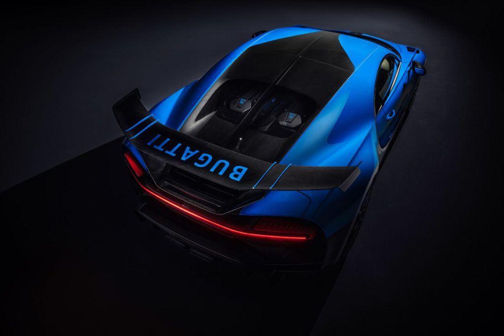 Bugatti Chiron Pur Sport.