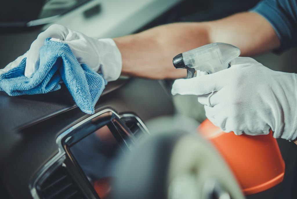 Follow these five simple tips to keep your car clean during the Coronavirus outbreak.