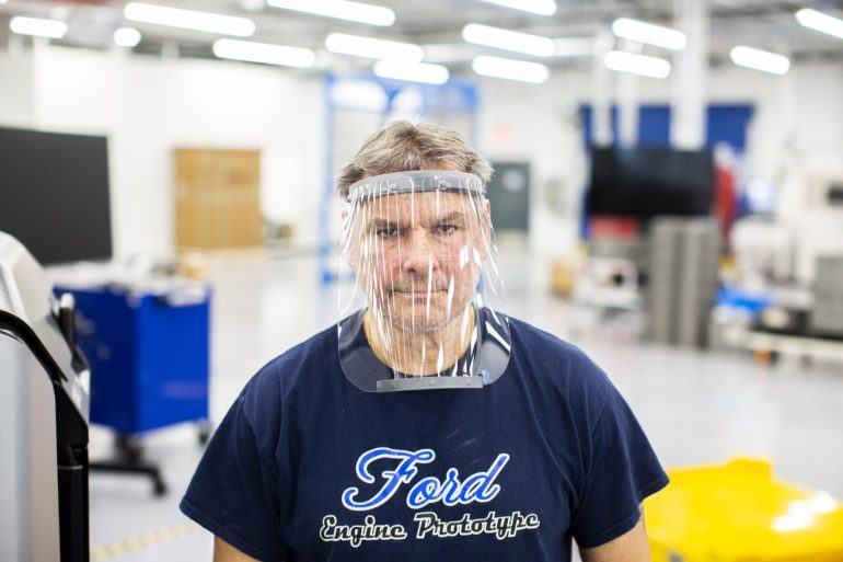 Ford Advances Coronavirus Medical Equipment Production 23