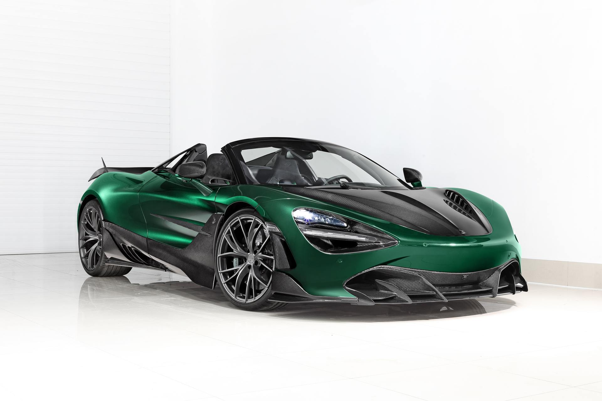 This McLaren 720S Spider Fury is a Carbon Fiber Masterpiece From Russia