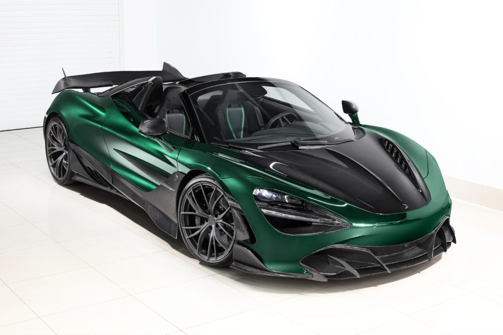 This McLaren 720S Spider Fury is a Carbon Fiber Masterpiece From Russia 15
