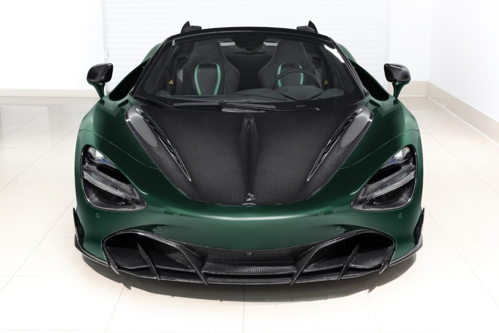 This McLaren 720S Spider Fury is a Carbon Fiber Masterpiece From Russia 30