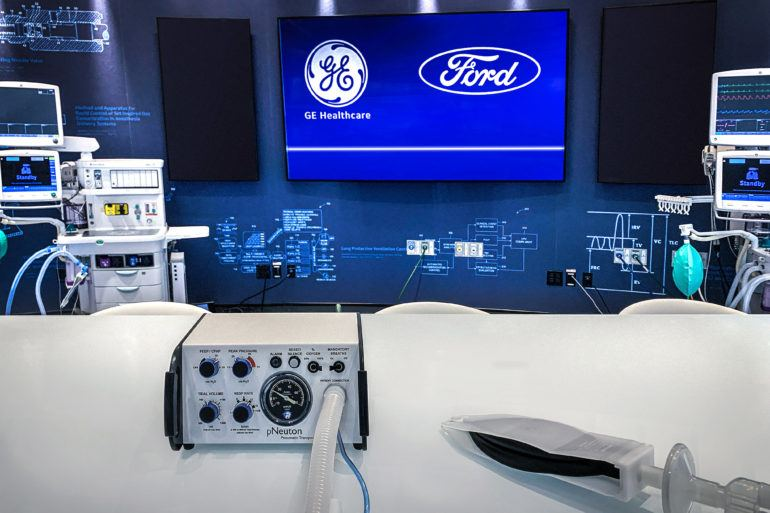 Ford, GE Healthcare to Produce 50,000 Ventilators in Michigan 20