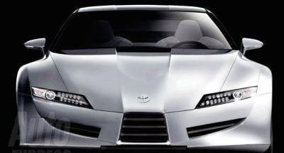 Toyota Supra Concept front