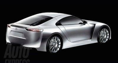 Toyota Supra Concept rear