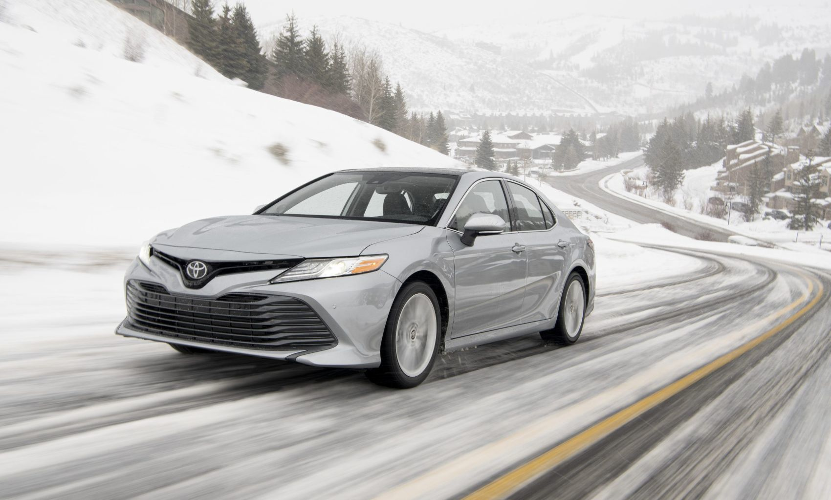 2020 Toyota Camry XLE with all-wheel drive.