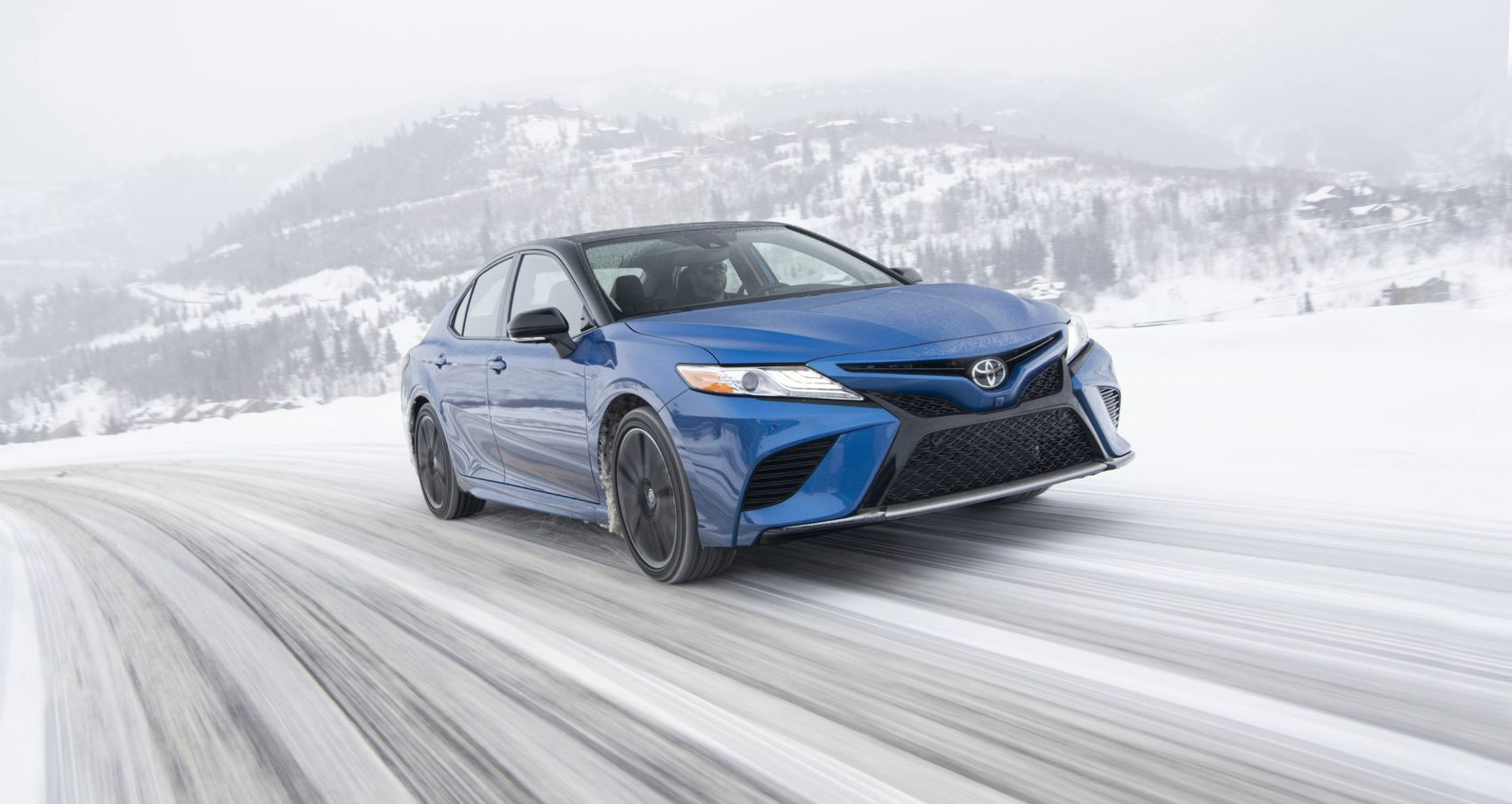 2020 Toyota Camry XSE with all-wheel drive. The all-wheel drive components account for an additional 165 lbs. versus a front-wheel drive Camry. Photo: Toyota Motor Sales, U.S.A., Inc.