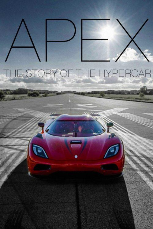 Apex The Story of the Hypercar Cover