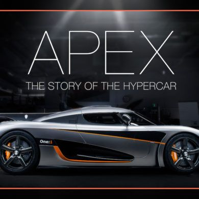 Apex The Story of the Hypercar Cover Photo
