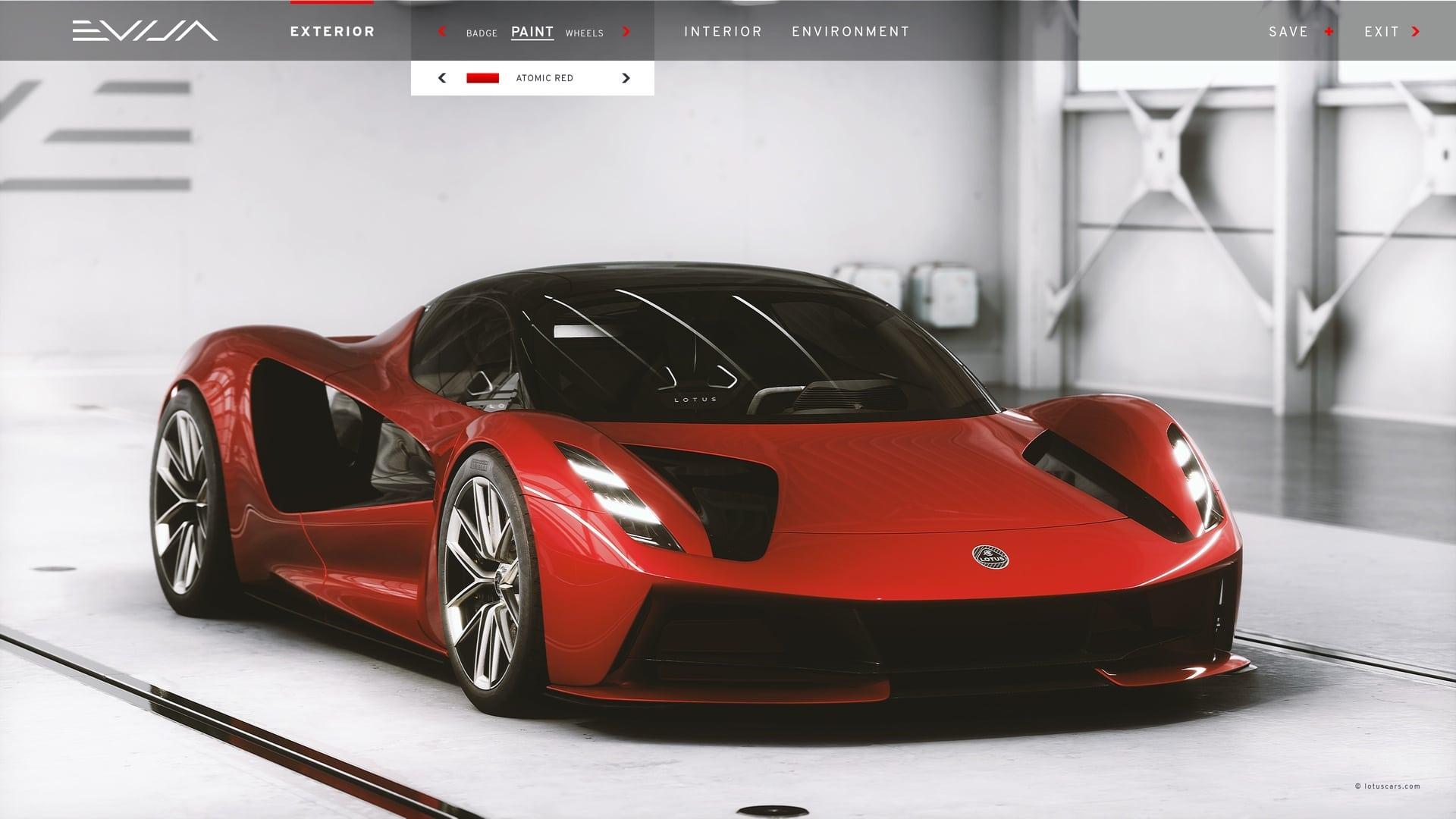 Lotus Evija Configurator: How Would You Design Your Dream Evija?