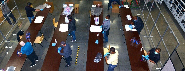 Kia Face Shield Production COVID 19